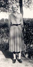 Walter's maternal grandmother, Lucy Milstead Lasyone, in Winnfield, Louisiana.  Click on image to enlarge.