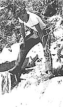 Harold at Mt. Wilson in 1941.  Click on image to enlarge.